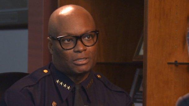 Chief Brown Talks with NBC 5 Investigates - Part 1