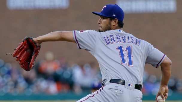 Darvish Wins, Napoli Homers as Texas Rolls