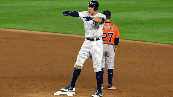 Yankees Beat Astros 6-4 to Even ALCS at 2 Games Apiece