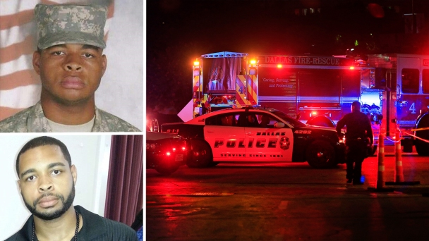 Dallas Gunman Hid Women's Underwear, Explosive in Barracks