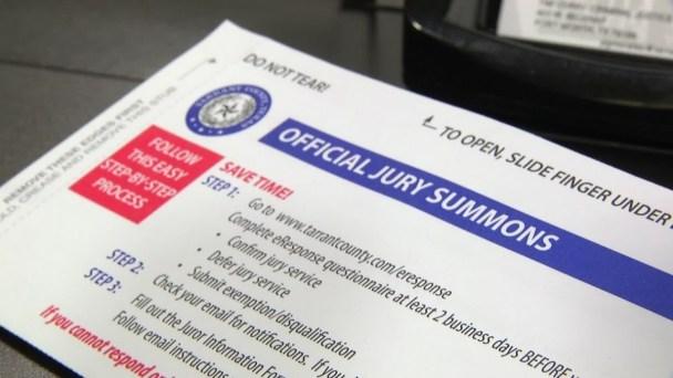 Jury Duty Scam Hits Dallas County