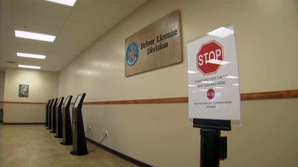 License Wait Times Shorter at DPS Mega Centers