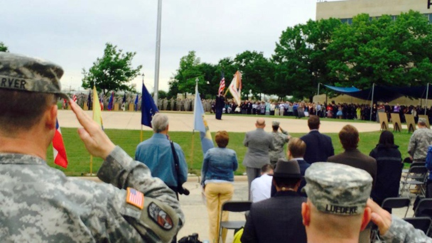 Fort Hood Victims Receive Purple Hearts