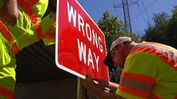 TxDOT Approves Lower 'Wrong Way' Signs to Curb Crashes