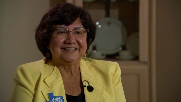Lupe Valdez 'Energized' After Primary Win