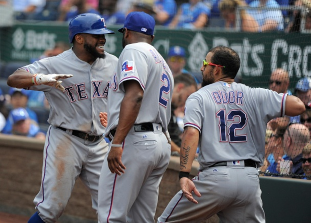 Rangers Win 2-1, Take Road Series Against Royals