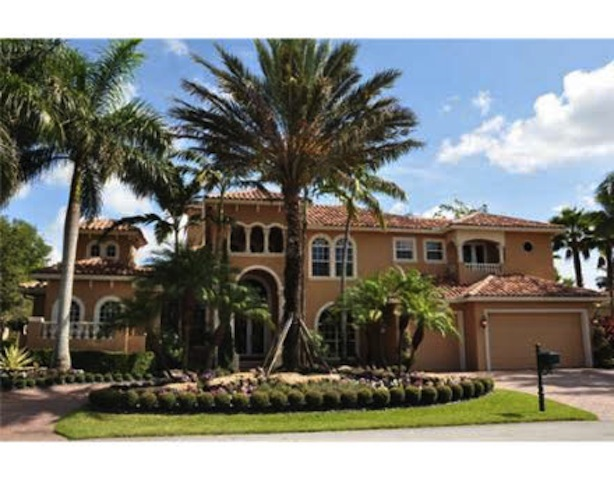 Miami Dolphins Coach Lists Mansion
