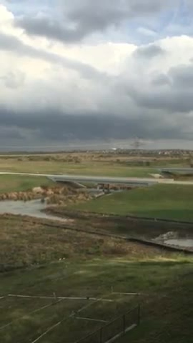 Tornado producing clouds