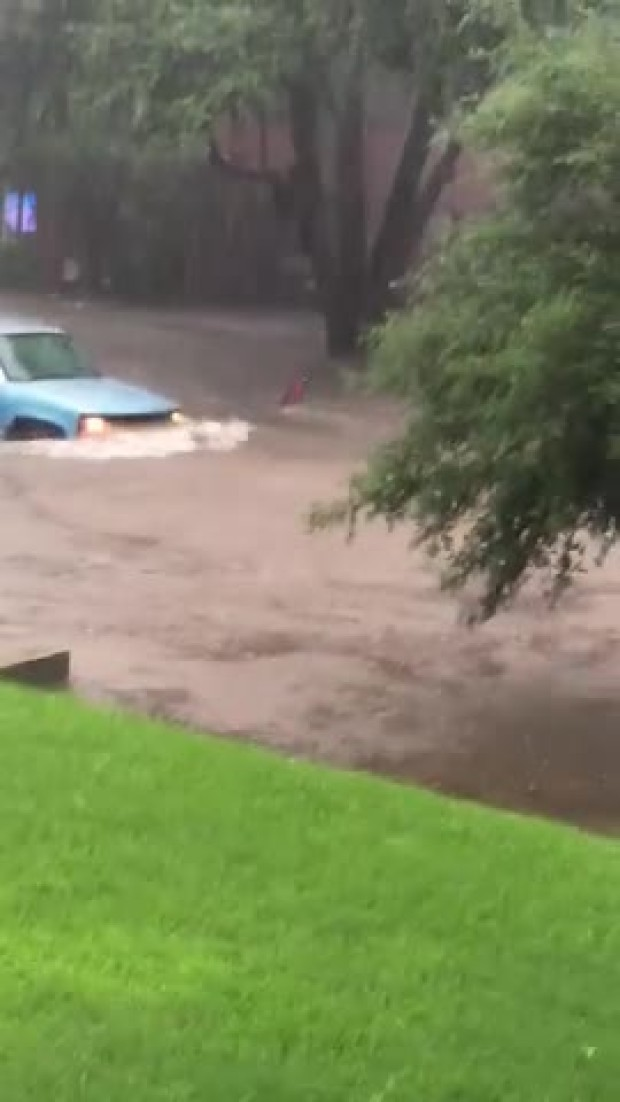 Major Flooding in FW