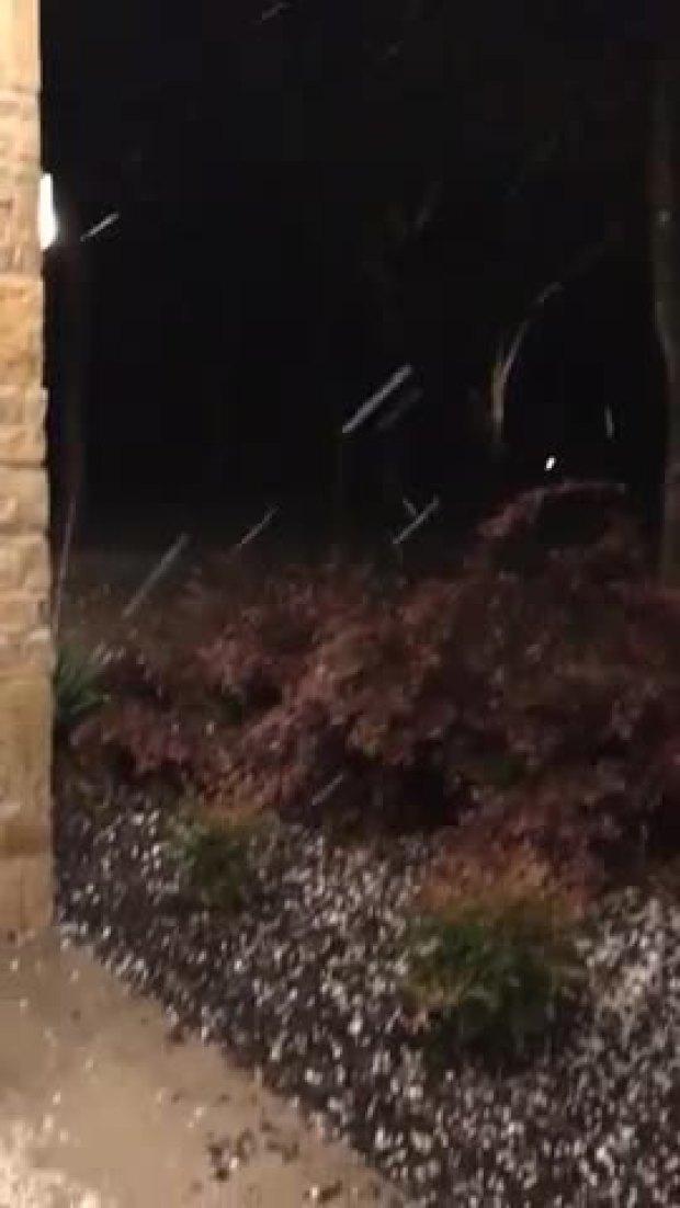 Hail at Mckinney Princeton 9:05pm
