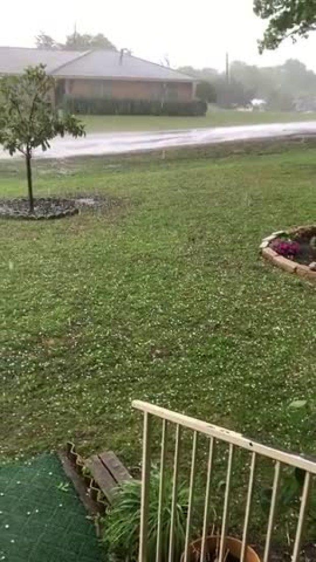 Round 2 of hail