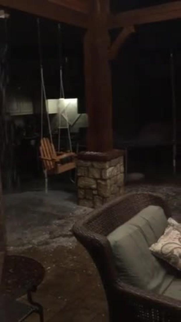 NW Frisco hail
