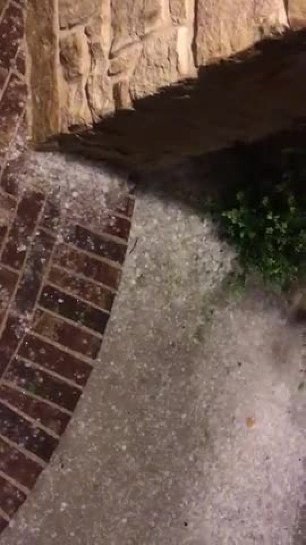 hail in prosper