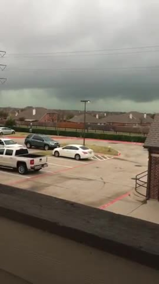 Frisco Thunderstorm Video
