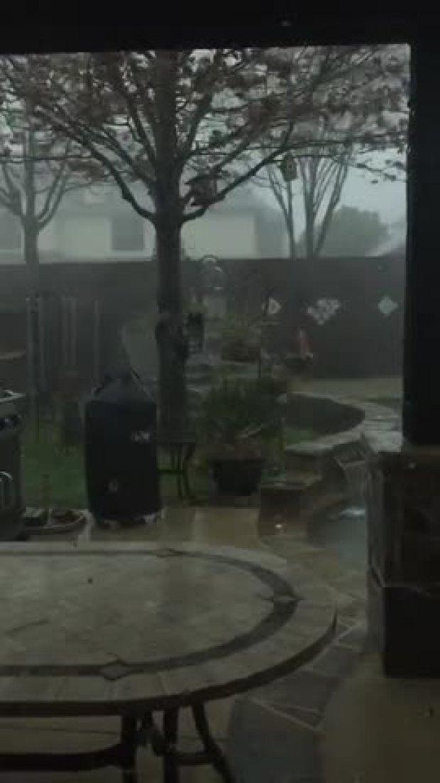 Storm in Keller