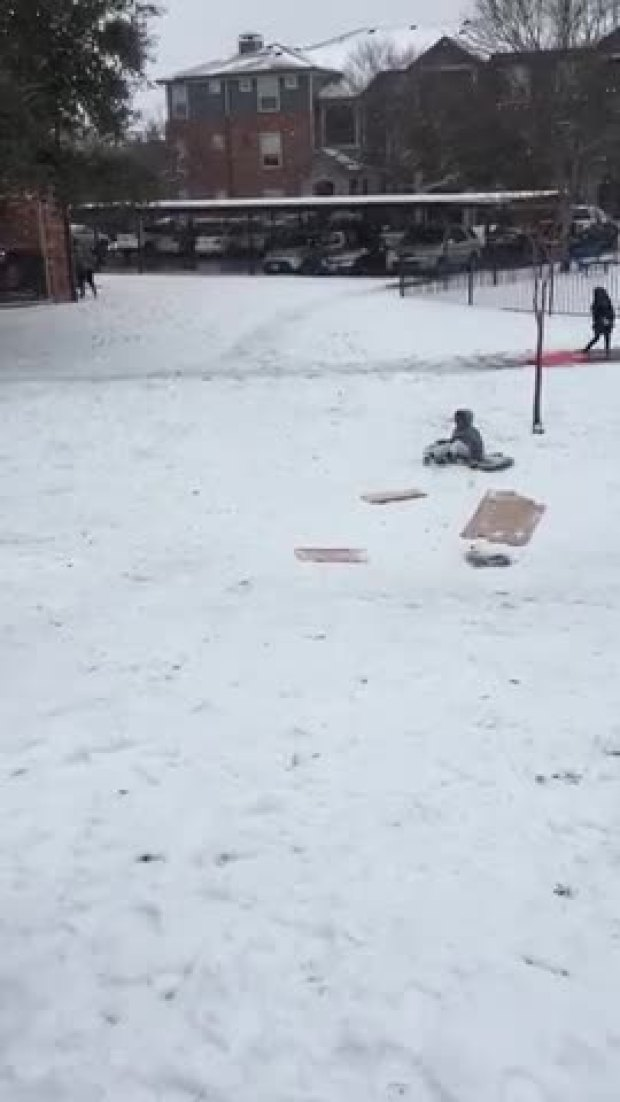 Jrue Simmons Sledding