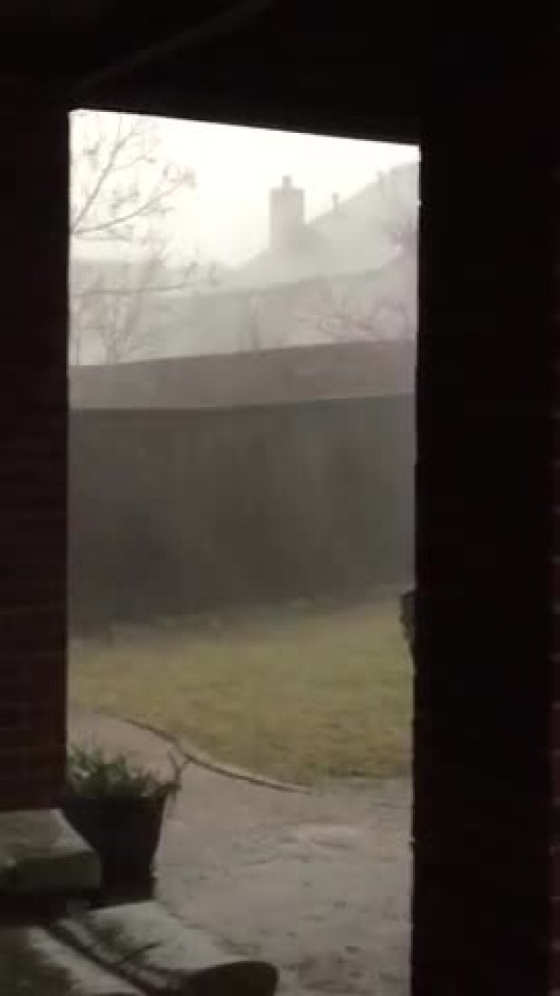 Video of Storm in Little Elm