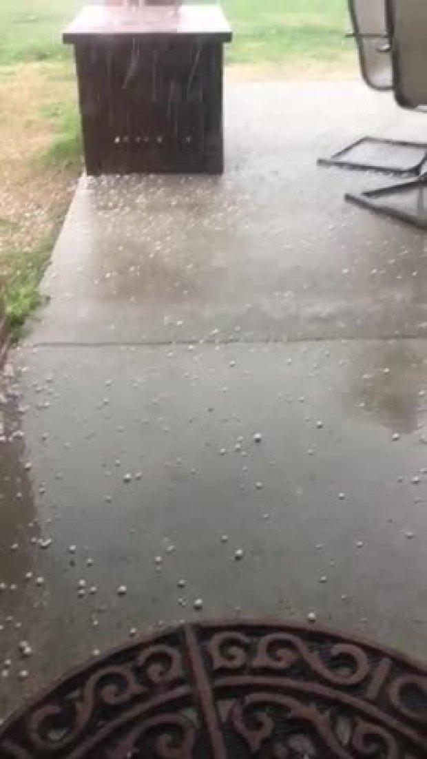 Hail in Waxahachie