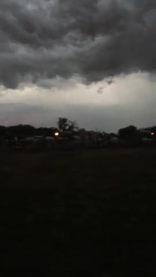 tornadic activity Denton
