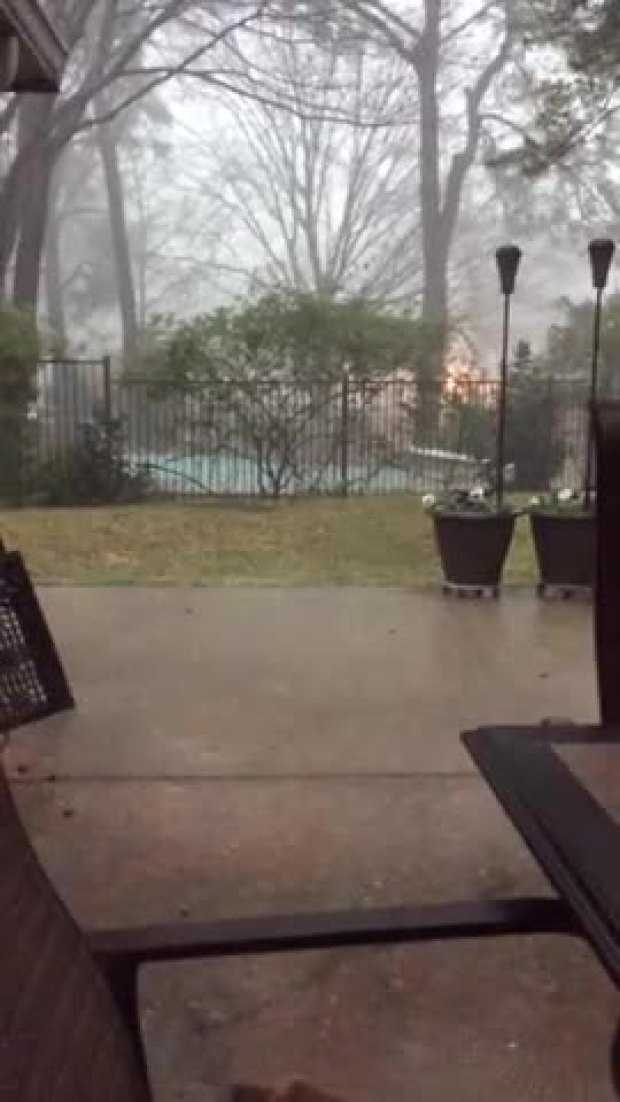 Hail in Flower Mound