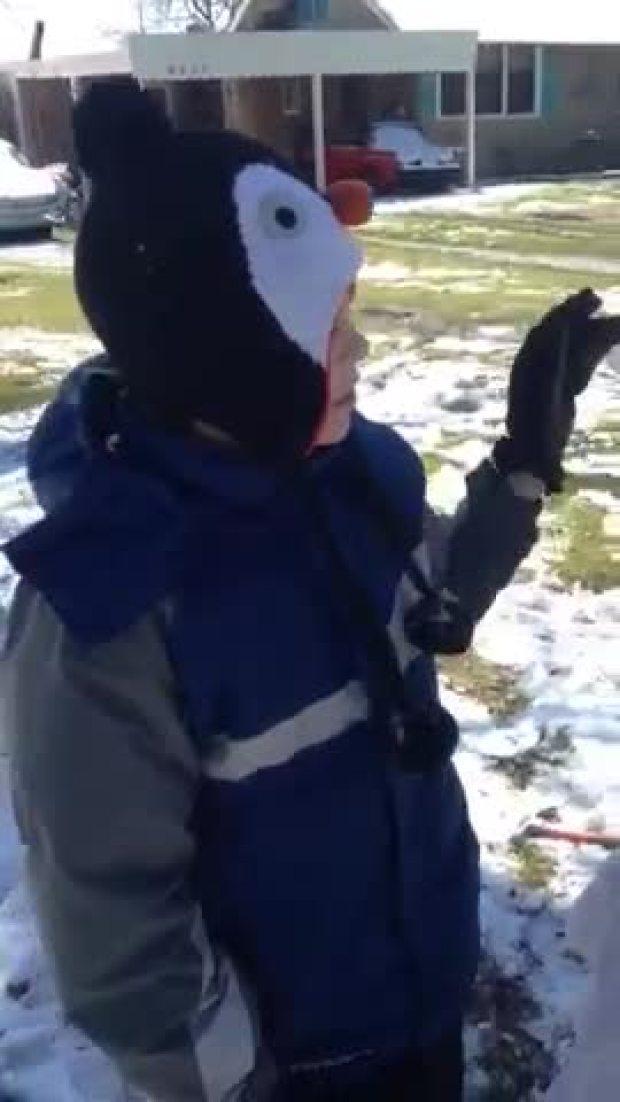 Snowman bob