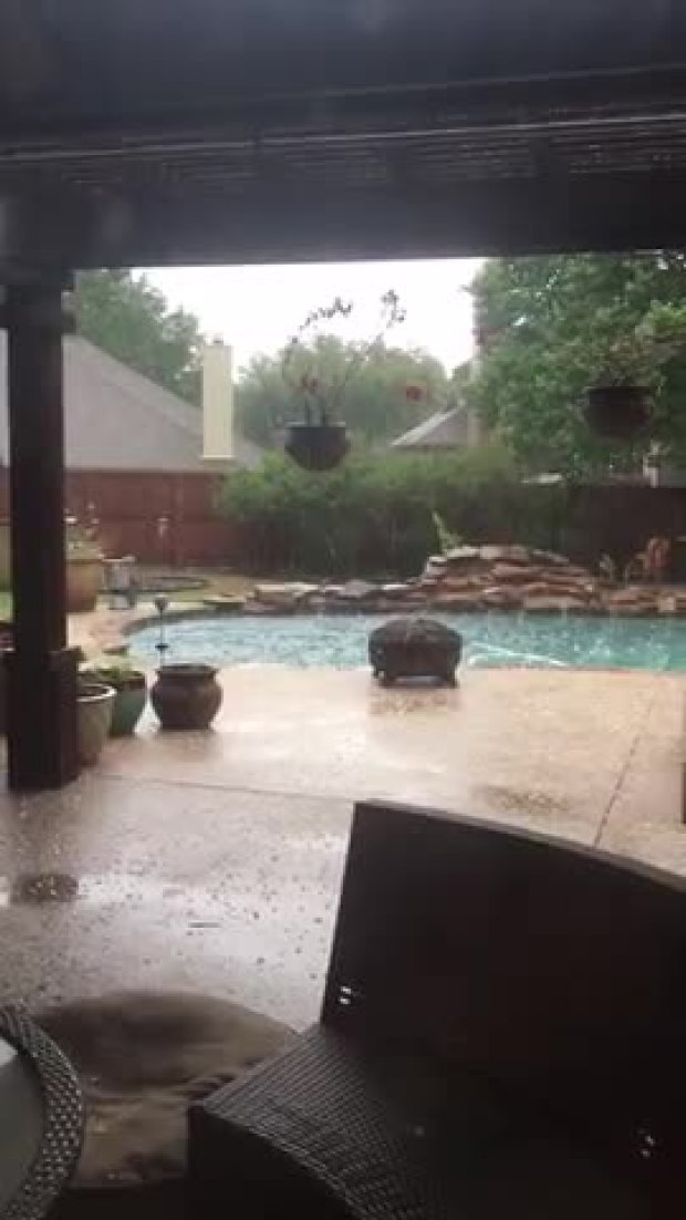 Flower Mound Hail Storm