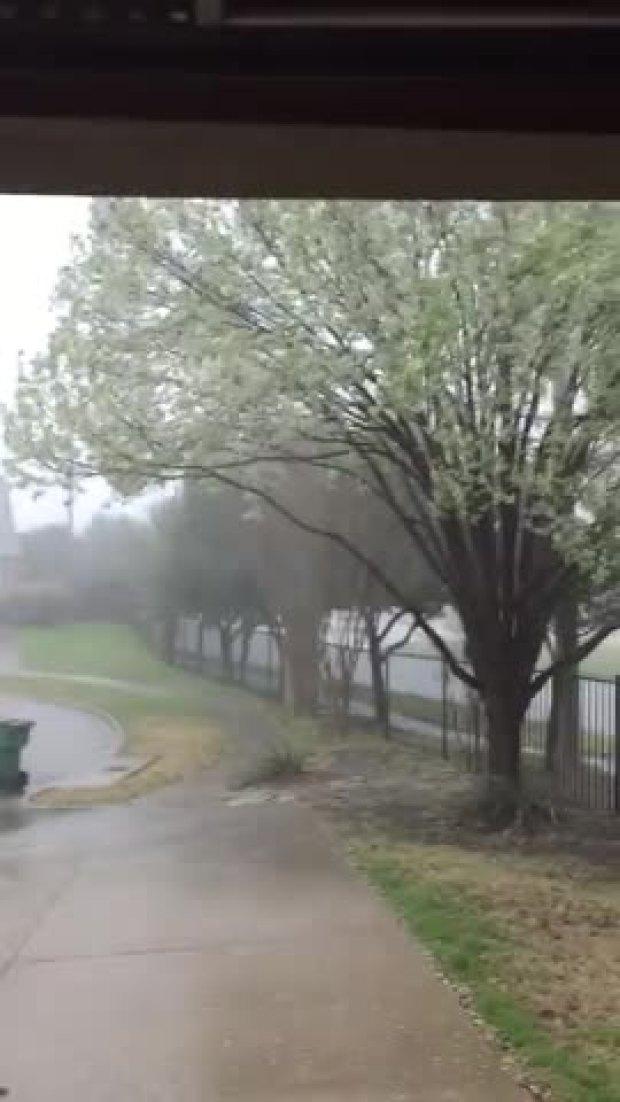 Storm in McKinney
