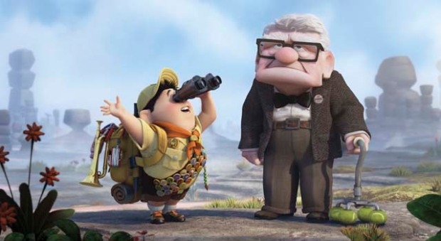"""Up"" Takes Best Animated Feature"