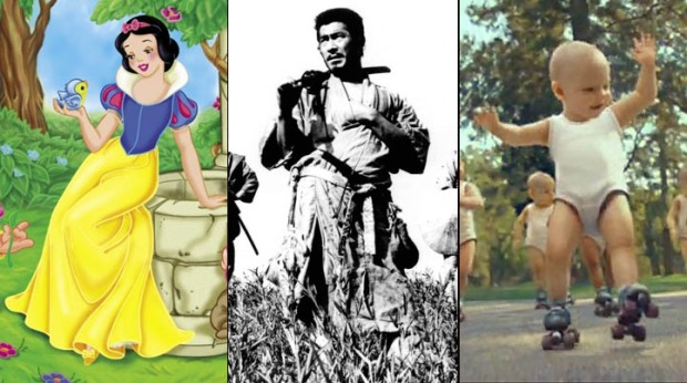 "Disney's New ""Snow White"" Movie Turning Into ""Seven Samurai,"" Roller-Baby Guy Hired to Direct"