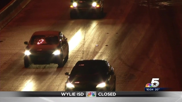 [DFW] DFW Roads And Runways Slammed By Ice