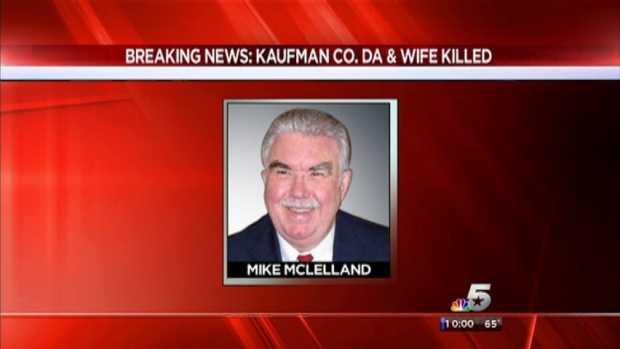 [DFW] Kaufman County District Attorney, Wife, Found Dead in Home