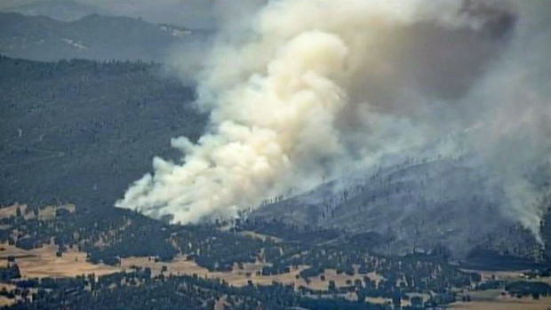 [BAY] 800-Acre Vegetation Fire Raging in Napa County