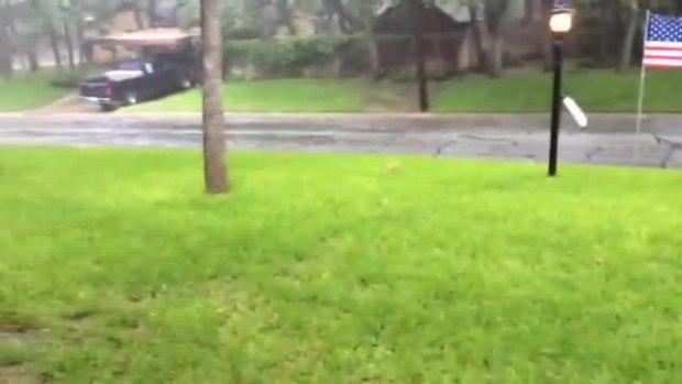 Rain in Arlington