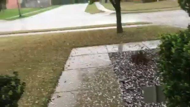Hail in McKinney