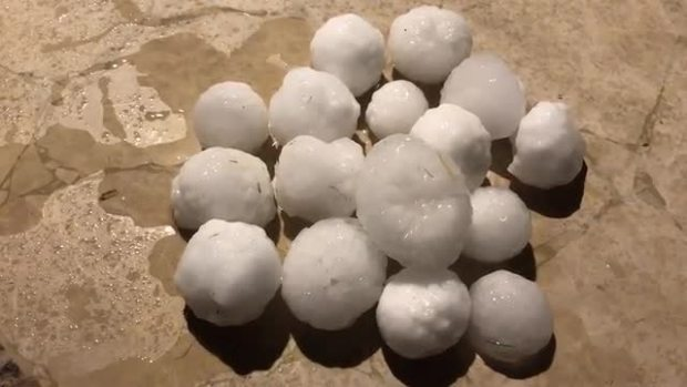Hail in Corinth