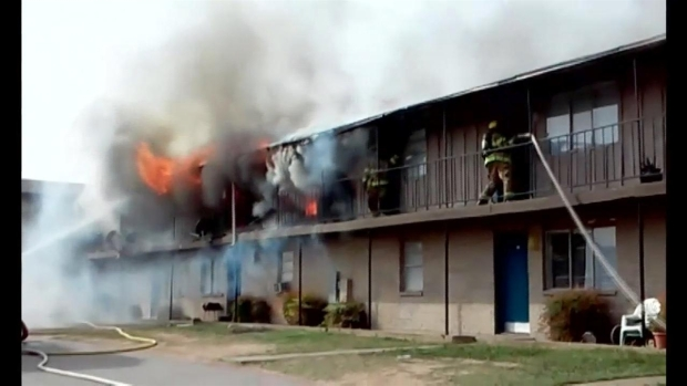 54 Homeless After Apartment Fire In Dallas