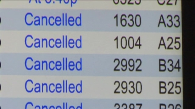 [DFW] Storm Cancelations Force Travelers To Stay In DFW