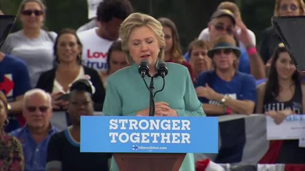 [NATL] Clinton Holds Rally in Southern Florida