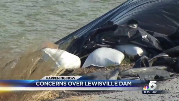 [DFW] Lewisville Dam 'Not at Risk of Failure' USACE