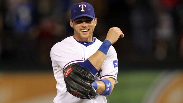 Gentry Gunning For Everyday Role In Rangers' Outfield