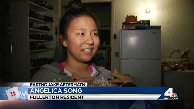 [LA] Barrage of Aftershocks Keep Southern Californians Worried