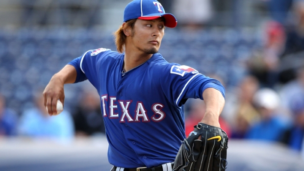 No Nerves for Darvish in Big League Debut