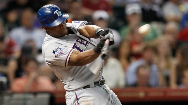 Beltre Belts Three Homers, Goes Down in History