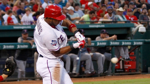 Rangers Win Wild Game Over Angels