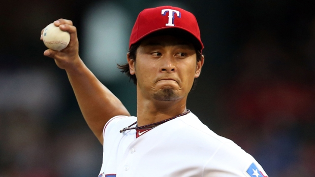 Darvish Named Rangers Rookie of the Year