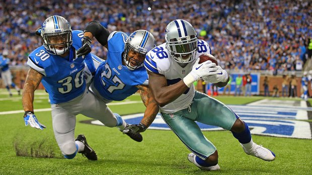 Images From the Sidelines: Lions 31, Cowboys 30