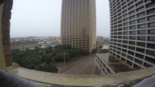 Storm Time Lapse - Downtown Fort Worth
