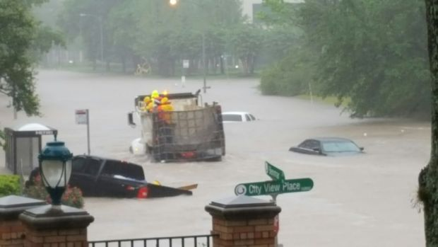 Houston Flooding in Photos