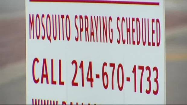 [DFW] Dallas to Expand Mosquito Spraying Program