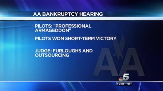 [DFW] AA, Pilots Return to Court
